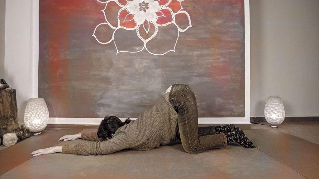 posizione di yin yoga