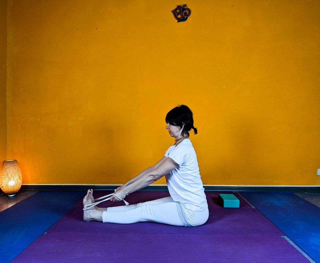 lezioni di yoga therapy