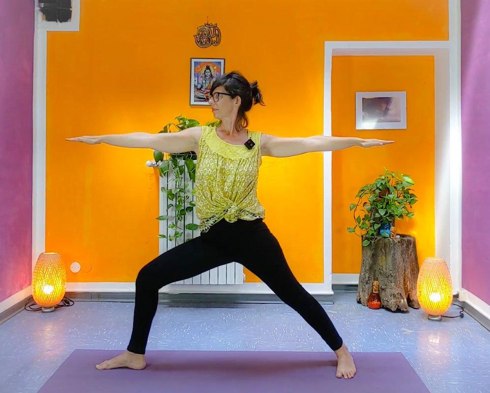 video lezione di yoga